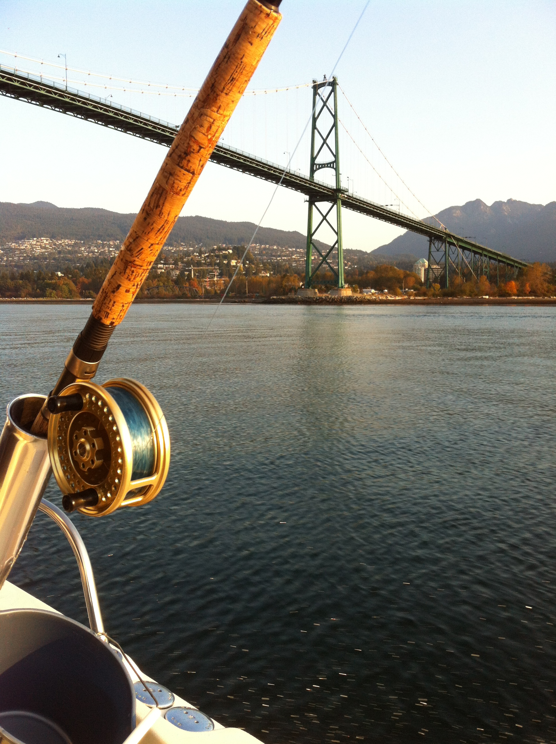 Lions Gate Bridge - Burrard Inlet Fishing