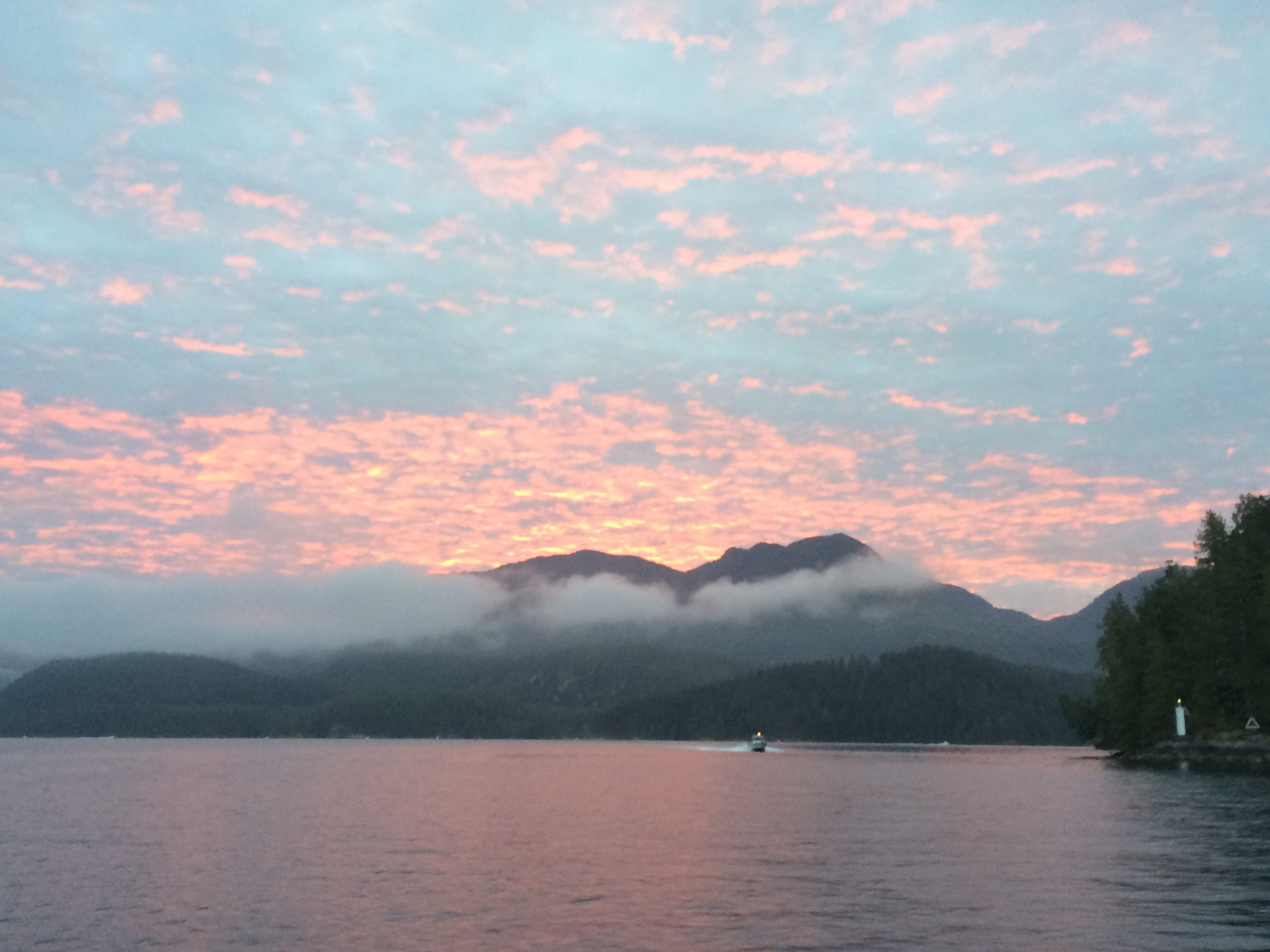 Nootka Sound Sunrise
