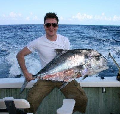 Trophy African Pompano - Cozumel, MX