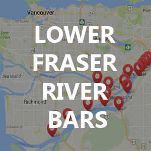 Bar Fishing Locations – Lower Fraser River