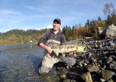 Neal & Male Chum Salmon