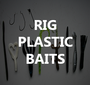 How to Rig Plastic Baits (Texas, Carolina & Drop Shot)
