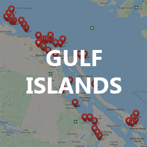 Gulf Islands – Fishing Locations