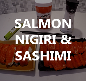 How to make Sockeye Salmon Nigiri and Sashimi