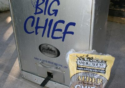 Big Chief Smoker & Alder Chips
