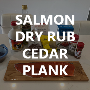 Best Coho Salmon Dry Rub & Maple Syrup Recipe