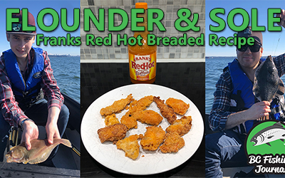Franks Red Hot Sauce Breaded Fish Recipe Using Sole and Flounder