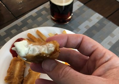 Rock and Chips in beer batter