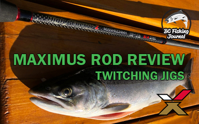Twitching Jigs Setup and Maximus Jigging Rods Review