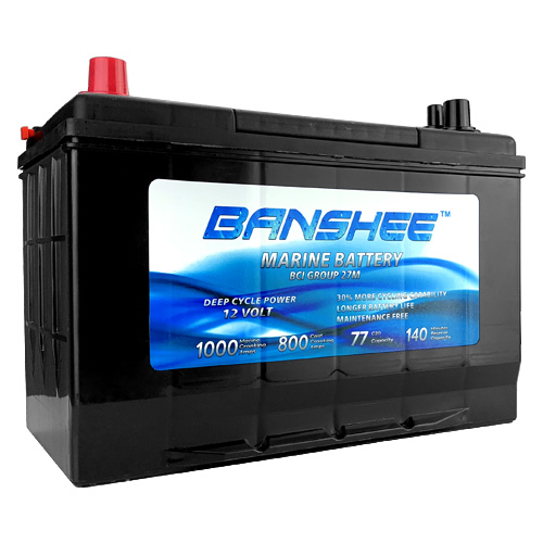 Banshee Dual purpose Marine Battery