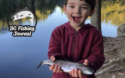 Spring Lake Fishing for Rainbow Trout and Testing the Rod Sprocket