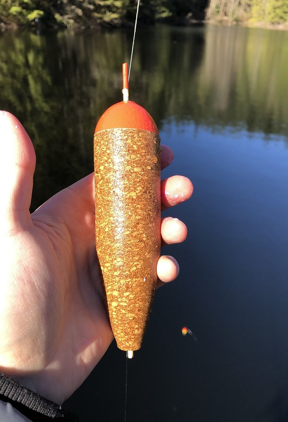 Homemade Cork Float for GFC
