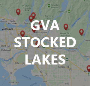 GVA Stocked Lakes for local Trout Fishing