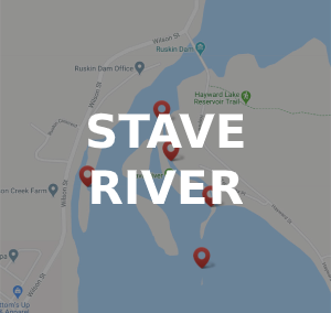 Stave River Fishing Locations and Species