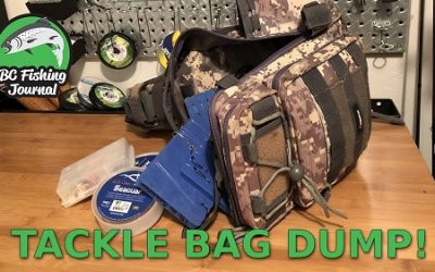 What's in my River Fishing Tackle Bag?